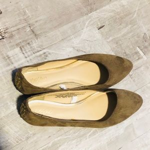Mossimo Suede Studded Flats